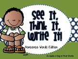 See it!  Think it!  Write It! Nonsense Words Edition