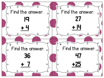 See it, Think it, Write it! Double Digit Addition with Regrouping