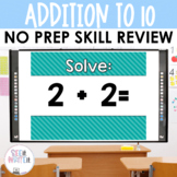 See it. Write it. - Addition Interactive PowerPoint