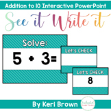 Addition Facts: Addition Fluency, Addition Math Facts to 10