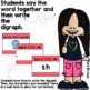 See it. Write it. - Beginning Digraphs Interactive PowerPoint