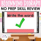 Beginning Digraphs Word Work Interactive Powerpoint
