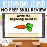 Beginning Sound Interactive Powerpoint