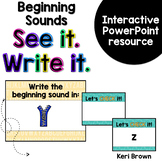 Beginning Sound Interactive Powerpoint