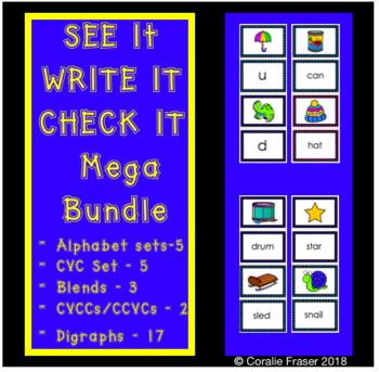 See it Write it Check it Mega Bundle
