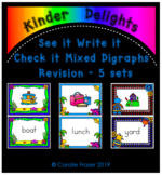 See it Write it Check it Mixed Digraphs Revision 5 Sets
