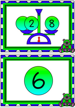 See it Write it Check it Numbers 1 to 10 - Missing Addends