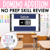 See it. Write it. - Domino Addition Interactive PowerPoint
