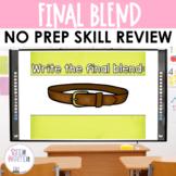 Final Consonant Blends Interactive PowerPoint