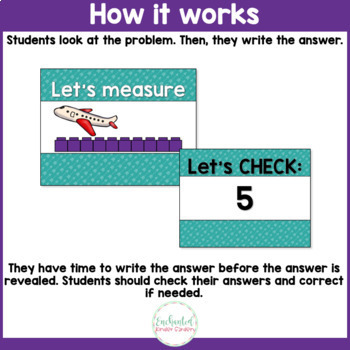 See it. Write it. - Measurement within 10 Interactive PowerPoint