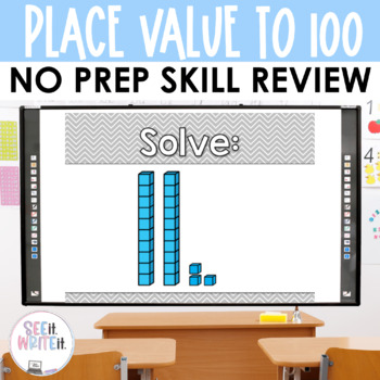 See it. Write it. - Place Value Interactive PowerPoint