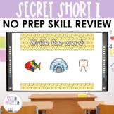 Secret Words - Short I CVC Word Work Interactive Powerpoint
