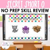 Secret Words - Short O CVC Word Work Interactive Powerpoint