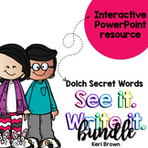 Dolch Words Activities: Interactive Word Work Activities Bundle