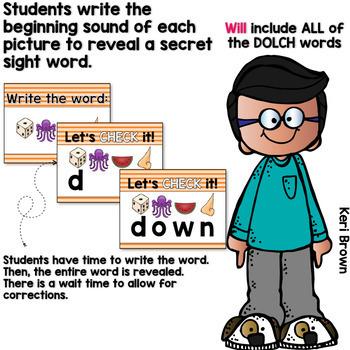 Dolch Words Activities: Interactive Word Work Activities Bundle