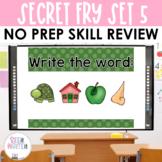 Fry Words Activities: Interactive Word Work Activities for Set 5