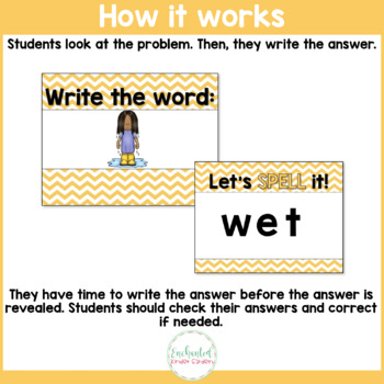 See it. Write it. - Short E Interactive PowerPoint
