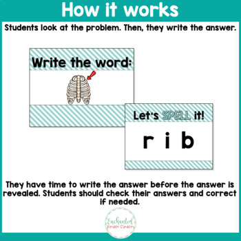 See it. Write it. - Short I Interactive PowerPoint