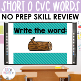 Short O Word Work Interactive PowerPoint: See it Write it