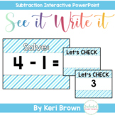 Subtraction Facts: Subtraction within 10, Subtraction Fluency