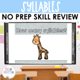 See it. Write it. - Syllables Interactive PowerPoint