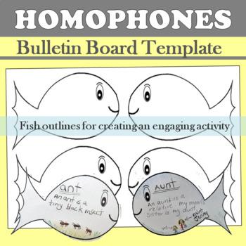 See our Sea of Homophones Bulletin Board