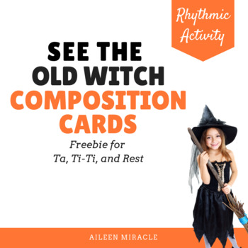 See the Old Witch Composition Cards {Freebie}