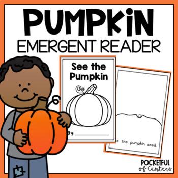 Pumpkin Emergent Reader FREE