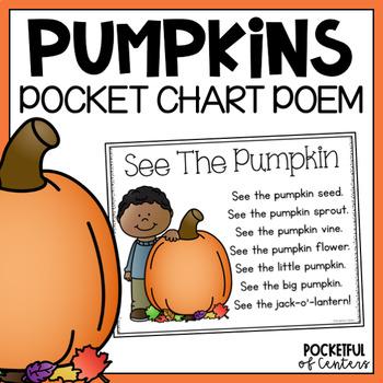 See the Pumpkin {Pocket Chart}
