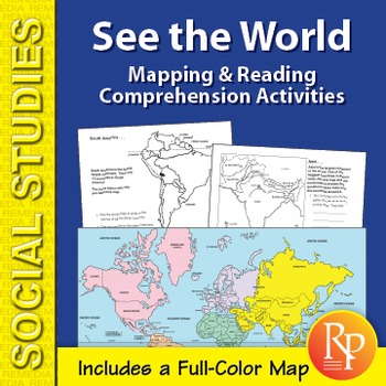 See the World: Mapping & Reading Comprehension Activities