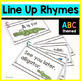 See you later alligator Line up Rhymes ABC theme