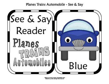 SeeNSay Reader (Transportation Theme)