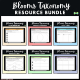 Seesaw Activities - Blooms Taxonomy BUNDLE - 72 Guided Reading Response Pages