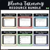 Seesaw Activities Templates - Blooms Taxonomy BUNDLE - Rea