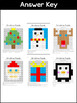 SeeSaw Activities - Christmas Edition - 100 Square Puzzles