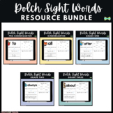 Seesaw Activities - Dolch Sight Words Bundle - Digital Pages