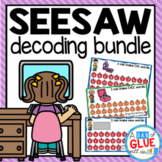 SeeSaw Activities Digital Decoding and Word Building {Grow