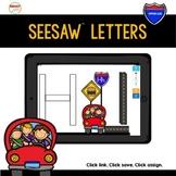 SeeSaw™ Letters Road Blocks