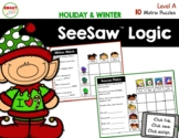 SeeSaw™ Logic Matrix Puzzles (Winter and Holiday) Level A