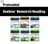 SeeSaw™ Research Reading Growing Bundle Distance Learning