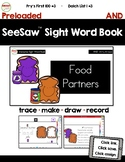 SeeSaw™ Sight Word Book #3 AND Distance Learning