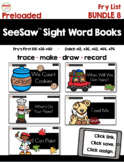 SeeSaw™ Sight Word Books (Bundle 8 Fry List 36-40) Distanc
