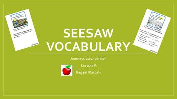 SeeSaw Vocab Journeys 2017 Lesson 8 (2nd gr.)