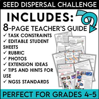 Seed Dispersal STEM Kit