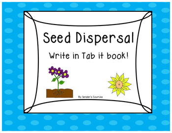 Seed Dispersal Tab Book SAMPLE OF SCIENCE PACK