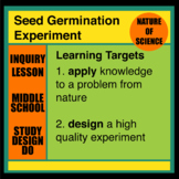 Seed Germination Inquiry Experiment