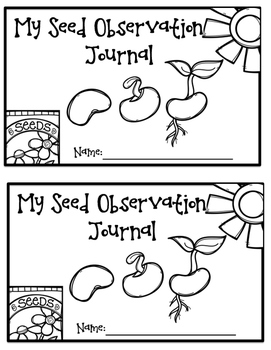 Seed Observation Journal - Free