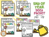 Seed Packet Gift Tag: End of Year *EDITABLE