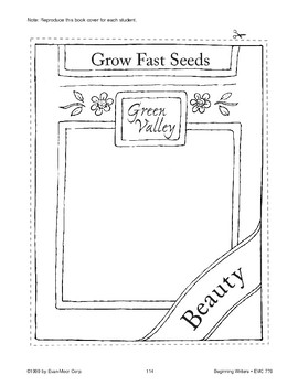 Seed Packet (Make Books with Children)