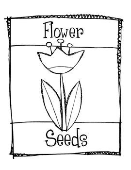 Seed Packet Measurement Freebie